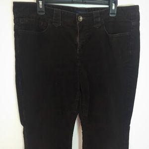 Tommy Hilfiger 16 brown corduroy boot cut  pants